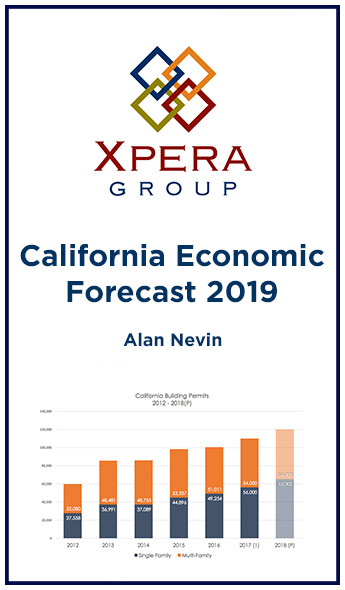 2019 California Economic Forecast by Alan Nevin
